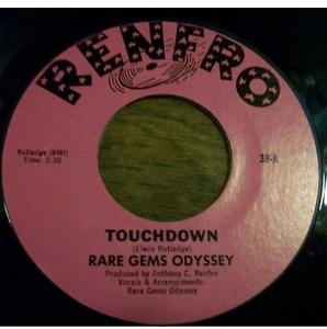 Single Cover Rare Gems Odyssey - Touchdown