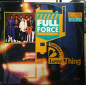 Single Cover Full Force - Temporary Love Thing