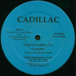 Single Cover Legend (feat. Tony Baxter) - Funk Invasion