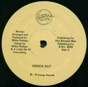 Single Cover Willie - Knock Out Phillips