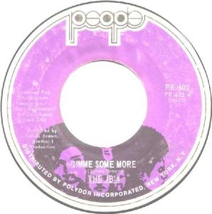 Single Cover The - Gimme Some More J. B.'s