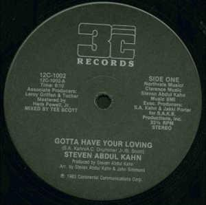 Single Cover Steven Abdul - Gotta Have Your Loving Kahn