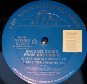 Single Cover Michael - Like A Tiger Zager From Abc Funfit