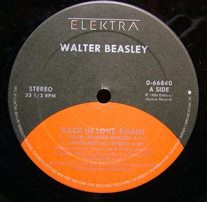 Single Cover Walter - Back In Love Again Beasley
