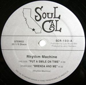 Single Cover Rhythm Machine - Put A Smile On Time