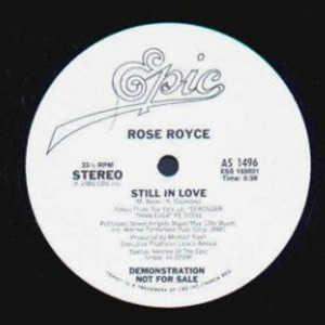 Single Cover Rose Royce - Still In Love