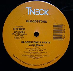 Single Cover Bloodstone - Bloodstone's Party
