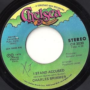 Single Cover Charles - I Stand Accused Brimmer