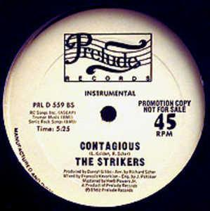 Single Cover The - Contagious Strikers
