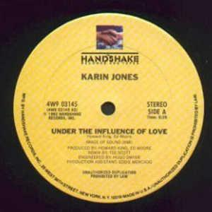 Single Cover Karin - Under The Influence Of Love Jones