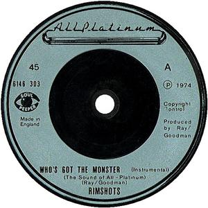 Single Cover The - Who's Got The Monster Rimshots