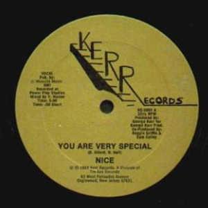 Single Cover Nice - You Are Very Special