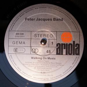 Single Cover Peter - Walking On Music Jacques Band