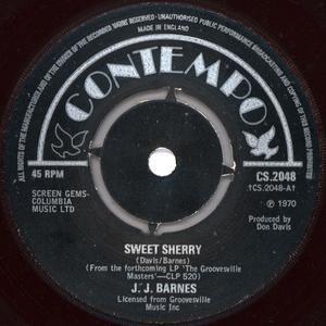 Single Cover J.j. - Sweet Sherry Barnes
