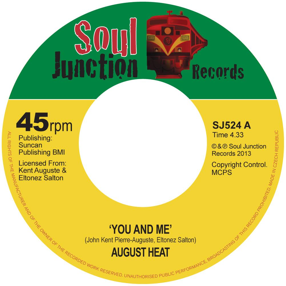 Single Cover August Heat - You And Me