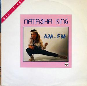 Single Cover Natasha - Am Fm King
