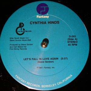 Single Cover Cynthia - Let's Fall In Love Again Hinds
