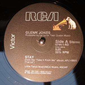 Single Cover Glenn - Stay Jones