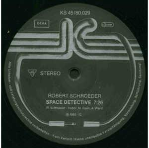 Single Cover Robert - Space Detective Schroeder