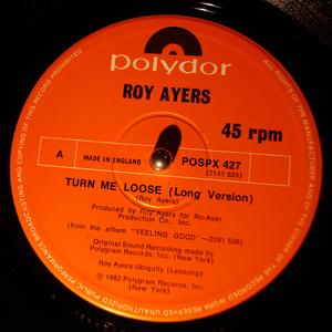 Single Cover Roy - Turn Me Loose Ayers