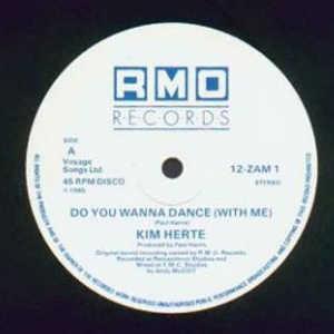 Single Cover Kim - Do You Wanna Dance With Me Herte