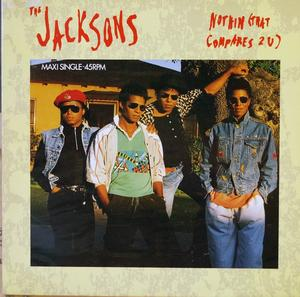 Single Cover The - Nothing That Compares 2 U Jacksons