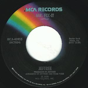 Single Cover Jeffree - Mr. Fix-it