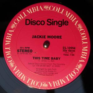 Single Cover Jackie - This Time Baby Moore