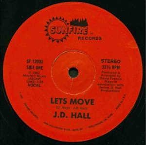 Single Cover J.d. - Let's Move Hall