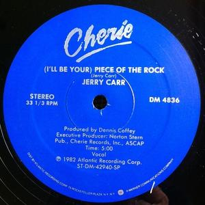 Single Cover Jerry - (i'll Be Your) Piece Of The Rock Carr