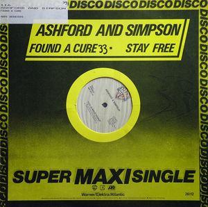 Single Cover Ashford & Simpson - Found A Cure