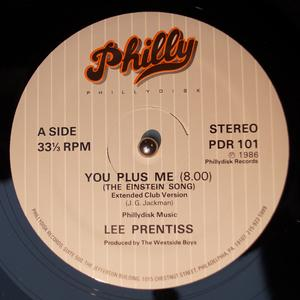 Single Cover Lee - You Plus Me (the Einstein Song) Prentiss