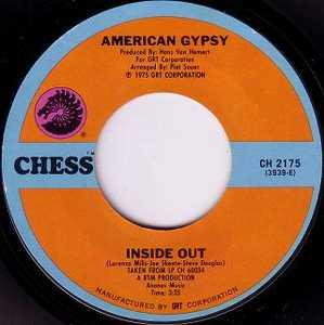 Single Cover American Gypsy - Inside Out