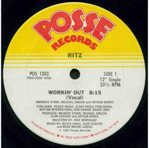 Single Cover Ritz - Workin' Out
