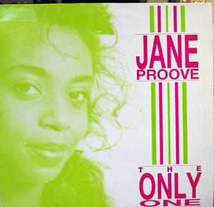 Single Cover Jane - The Only One Proove