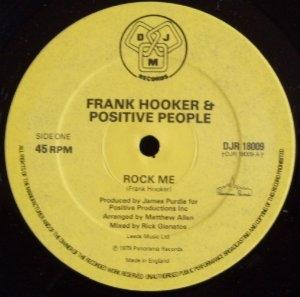 Single Cover Frank - Rock Me Hooker & Positive People