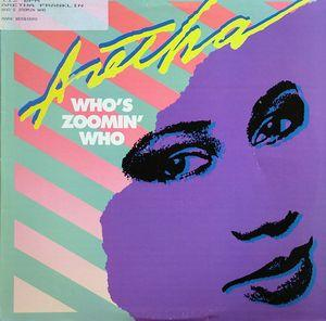 Single Cover Aretha - Who's Zoomin Who Franklin
