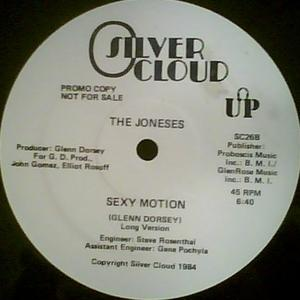 Single Cover The - Sexy Motion Joneses