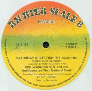 Single Cover Ken - Saturday Night Fish Fry Washington And The Amalgamated First National Bank