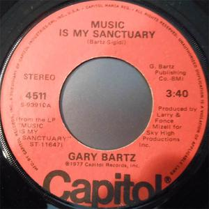 Single Cover Gary - Music Is My Sanctuary Bartz
