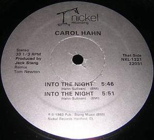 Single Cover Carol - Into The Night Hahn