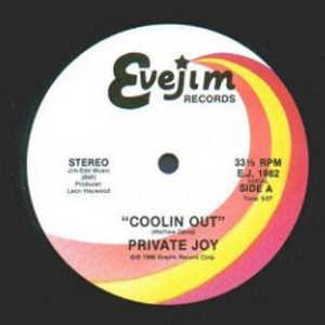 Single Cover Private Joy - Coolin' Out