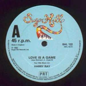 Single Cover Harry - Love Is A Game Ray