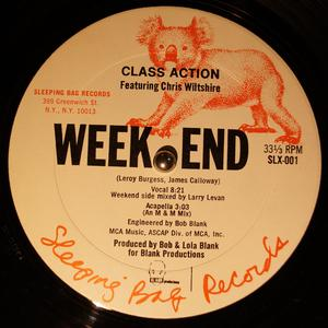 Single Cover Class Action - Weekend