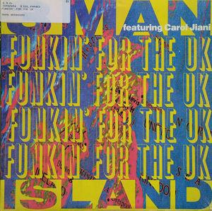 Single Cover 3man Island - Funkin' For The Uk