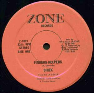 Single Cover Shiek - Finders Keepers