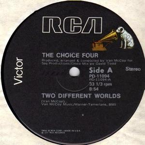 Single Cover The - Two Different Worlds Choice Four