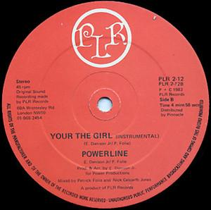 Single Cover Powerline - Your The Girl