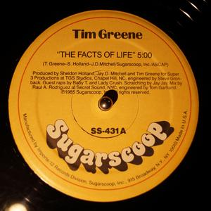 Single Cover Tim - The Facts Of Life Greene