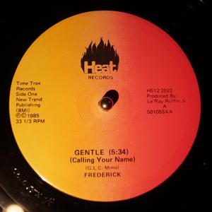 Single Cover Frederick - Gentle (calling Your Name)